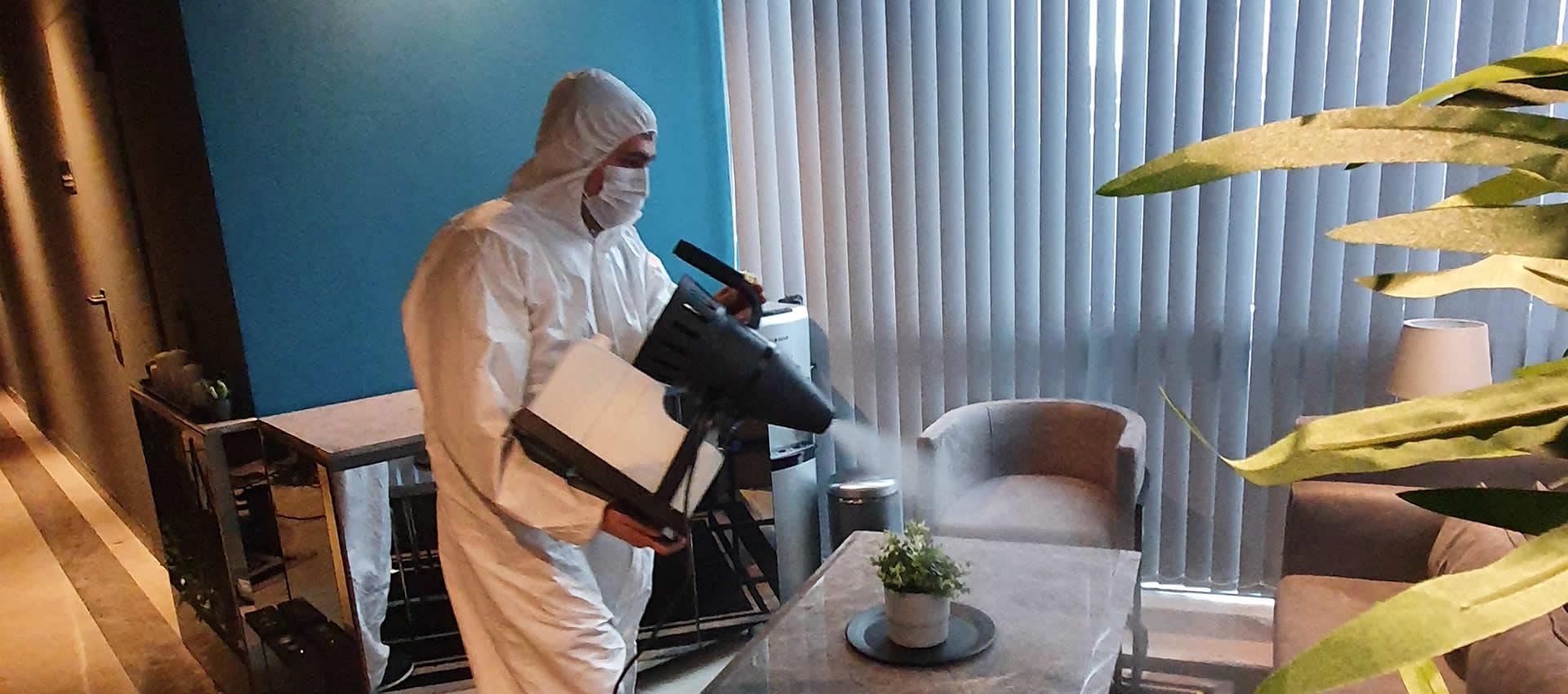 Virüslere Karşı Dezenfektasyon İşlemi
